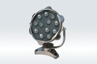 9*1WLED Underwater Light;DMX512 compatible;DC12V input;IP68;Stainless steel housing;RGB;P/N:FST-HFL-W9L-04