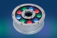 9*1W LED Underwater Light;DMX512 compatible;DC24V input;IP68;Stainless steel housing;please advise the color you need