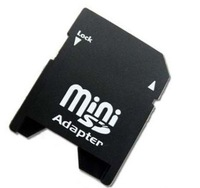 free shipping 500pcs/lot TF MINI SD adapter TO SD CARD Adapter MS001