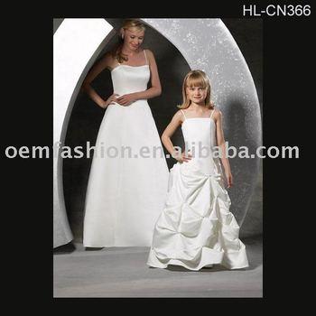 beautiful flower girl dress/children dress HL-CN366