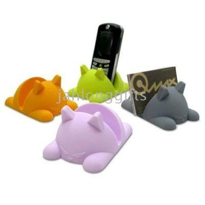 pcs a lot Novel Animal Mobile Phone Holder,Name Card Holder,Promotional gift, 20(China (Mainland))