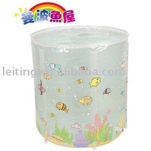 inflatable baby swim pool/bathtub