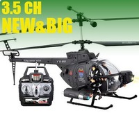 Free shipping! 3.5 ch GYRO defender RC helicopter 17.7 inch big plane
