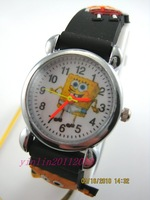 SpongeBob SquarePants Children's quartz watch,H3-BK