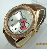 Hello Kitty Ladies Quartz WristWatches, LK2-GO