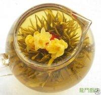 500g, Blooming Green Tea,Flowering,Long Men Xi Zhu Cha
