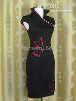 silk Cheong-Sam dress S-xxxl Sexy women's Chinese