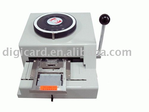 embossing machine ,Dog Tag Embosser--EM55A manual embossing machine(China (Mainland))