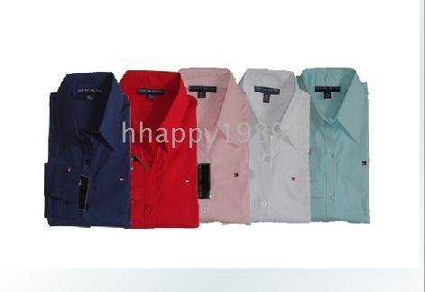 10pcs Top quality Long Sleeve dress shirt Shirts apparel MIX order T45(China (Mainland))