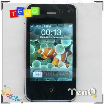 sensor dual sim 3.2inch shaking screen i9 wifi scphone style cellphone compass 3d
