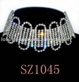 bridal jewelry sets high quality rhinestone free shipping