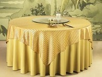 polyester table cloth make to order