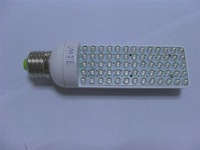 E27 Base LED Bulb;65pcs 5mm led;3.5W;size:43mm*153mm;295lm,P/N:HA015C