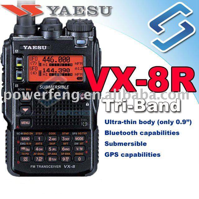 Yaesu tri band handheld