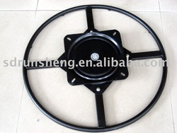 Furniture hardware fitting,thickening sofa swivel plate(China (Mainland))
