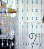 AC0021 Acrylic ( PMMA)  crystal beaded curtain