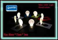 Free shipping! 2010's most creative advertising gift! LED Light, Credit Card light,Mini light