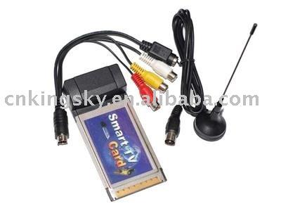 TV Smart Card / Pcmcia TV Tuner card For Laptop/ Notebook(Hong Kong)