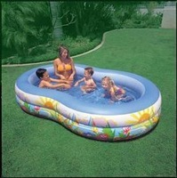 free shipping Inflatable pool home pool INTEX56490 character type folding swimming pool