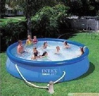 free shipping INTEX56970 dish family swimming pool / inflatable pool