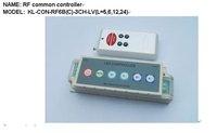 LED RF common controller;DC5V/12V/24V input optional, please advise;P/N:KL-CON-RF6B(C)-3CH-LV(L=5,6,12,24)