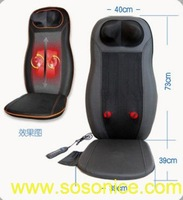 CF-MB01 ( shoulder + core / back + seat ) 12V electric massage cushion with heat therapist