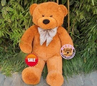 HOT Sale! Free Shipping! 80cm brown teddy bear ,teddy bear,gift