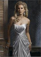 2011 year custom-made wedding dress  mermaid & Strapless