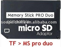 memory card adapter  Micro SD to Memory Stick Pro Duo Adapter For PSP