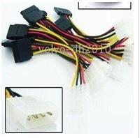 300pcs New IDE to Serial ATA SATA Hard Drive Power Cable