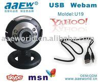 Hot sale PC Camera U19,  Popular webcam