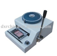 VIP card embosser+Free Shipping,Perfect partner with the hot stamping machine to do embossing name and number