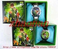 NEW-50pc ben 10 Children's Watches Wristwatches W boxes