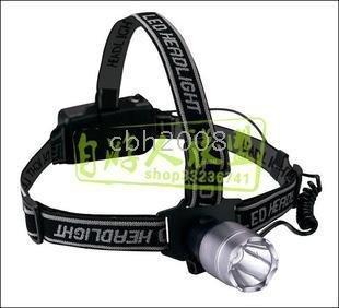 , waterproof head lamp 3w military headlight, falshlight , camping