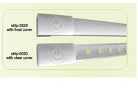 led flexible strip with touch switch;60cm long,36pcs SMD 5050;9W;540lm;DC12V input;with transparent cover