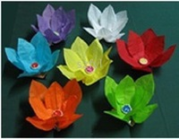 Wishing Valentine's Day Birthday Christmas lanterns light romantic light lotus lanterns, lotus lamp