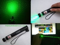 oxlasers 100mw  protable green laser pointer with star cap/focusable BURNING green laser  torch+lock  burn match +free shipping