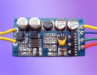 LED RGB constant current driver;DC12V input;RGB*1*3W/640ma output;size:43*23*10mm;P/N:AT2310