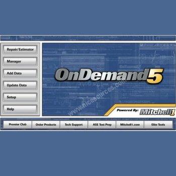 2010 Mitchell ondemand 5.8.1.9  auto service information +100G Mobile HDD