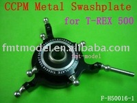 F00760  Hot New F-H50016-1 CCPM Metal Swashplate for  TREX T-REX  500 +Free shipping