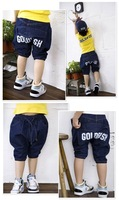 Male children's clothing wholesale free transport children five pants crotch trousers personality plus