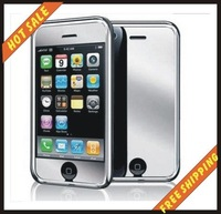 Free shipping-- Brand New Mirror Screen Protector Film Cover for iphone 3G 3GS+Retail package