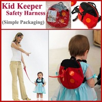 Kid keeper Baby Safety Harness Toddler Child Harnesses Reins Backpack Straps Bat Bag Anti-lost Walking Wings