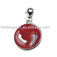 50pcs mixed enamel charm FREE SHIPPING