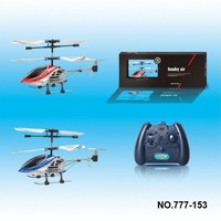 3-CH Infrared Control Mini Alloy Helicopter