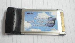 PCMCIA 10/100MB Ethernet Network LAN Card PCMCIA LAN Adapter
