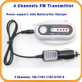 fm transmitter 4 channels fm transmitter