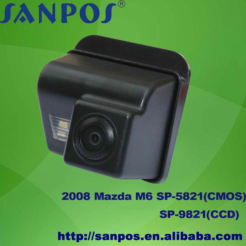 cmos waterproof car rear view camera for 08 Mazda, Pentium B70, 170 degrees lens angle, day & night vision(China (Mainland))