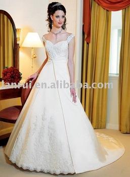 free shipping latest designer wedding dress