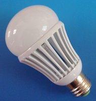 E27 LED bulb,7W;700LM;AC110V input;5500-6500K;cold white